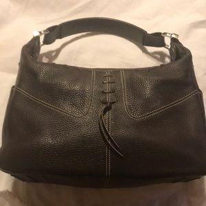 Tod's dark brown handbag